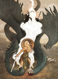 Eowyn conquering the Witchking