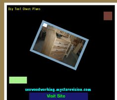 Diy Tool Chest Plans 154510 - Woodworking Plans and Projects!