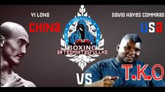 Yi long shaolin monk 一龙 ( CHN) Kung fu Vs David Hayes Commrad 大卫·海耶斯  (U...
