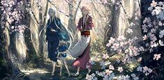 【刀剣乱舞】桜並木を歩く左文字兄弟【とある審神者】 : とうらぶ速報~刀剣乱舞まとめブログ~