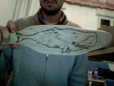 From wood to whale   Dal tagliere al capodoglio