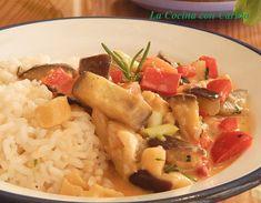 Es un plato que requiere un poco de dedicación, pero que a la postre te dará el placer de comerlo y compartirlo. Curry, Potato Salad, Pork, Ethnic Recipes, Sweet, Cooking Recipes, Dishes, Deserts, Ethnic Food