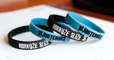 Silikónový náramok BijouTerrier, modrý