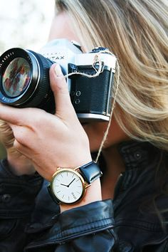 ARVO Genuine leather watches. Photography by Tell the Birds Breea Guttery @Allison Van Oss