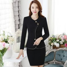Source western hotel supply hotel uniforms hotel black colour slim fit receptionist uniforms on m.alibaba.com Office Clothing, Hotel Uniform, Business Suits, Receptionist, Hotel Supplies, Office Outfits, Make A Wish, Offices, Hotels