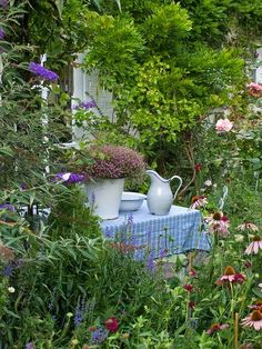 lovely cottage garden! | tuin | pinterest | gärten, pinke rosen, Best garten ideen