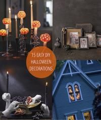 I'm sure most of us already have our halloween decorations up around the house, but we could always use a little more, right? Here are 15 easy DIY halloween decoration ideas that I am dying to try. Which ones will you try out? nggallery id='123421' ---------------- Read more of my babble postsright here. Find my…