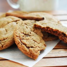 Spiced Soft Molasses Cookies - The Chunky Chef