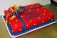 Birthday Sheet Cake by Stephanie Dillon LS1 Hy-Vee