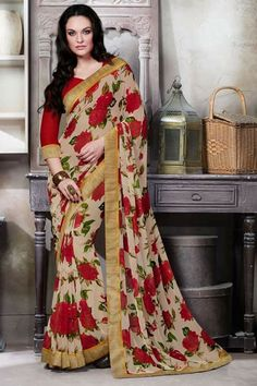 # party # sarees @ http://zohraa.com/beige-faux-georgette-saree- z2855p1343-6.html # celebrity # zohraa # onlineshop # womensfashion # womenswear # bollywood #look # diva #party # shopping # online # beautiful # beauty #glam # shoppingonline # styles # stylish # model # fashionista # women # lifestyle #fashion # original # products # saynotoreplicas