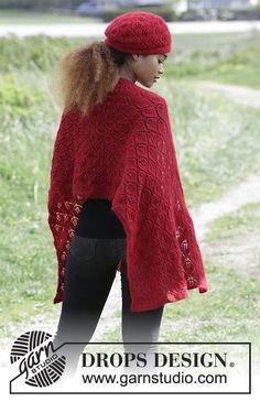 Women - Free knitting patterns and crochet patterns by DROPS Design Lace Patterns, Knitting Patterns Free, Free Knitting, Crochet Patterns, Drops Design, Knitted Shawls, Crochet Shawl, Knit Crochet, Laine Drops