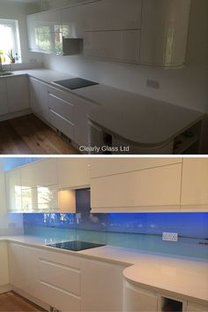 Before and After: Digitally Printed Splashback. Turning a nice kitchen into an amazing kitchen.