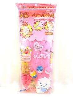 kawaii silicone pink japan japanese decoden deco den