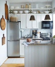 99 Inspiration For Your Own Tiny House With Small Kitchen Space Ideas (2)