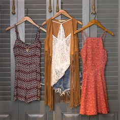 Festival season is underway! Dressy Outfits, Outfits For Teens, Girl Outfits, Summer Outfits, Cute Outfits, Summer Dresses, Summer Clothes, Gypsy Chic, Boho Gypsy