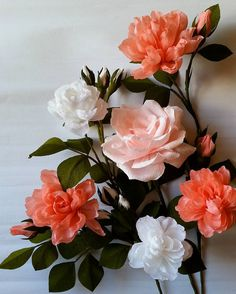 "262 Likes, 16 Comments - Valentina Moraliyska (@valentinasflowers) on Instagram: ""#paperflower"""