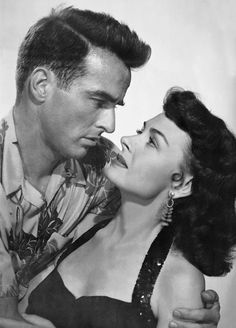 Montgomery Clift and Donna Reed - From Here To Eternity (1953)