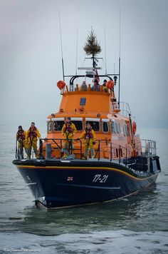 RNLI Newhaven, Severn Class, RNLB 17-21 David and Elizabeth Acland