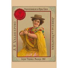 Buyenlarge 'Jerez De La Frontera' Vintage Advertisement Size: