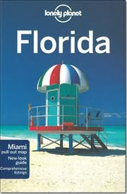 Lonely Planet Regional Guide Florida af Jeff Campbell, ISBN 9781741795769
