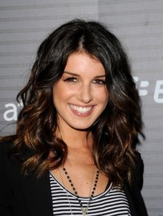 Ombre color w/ dark hair... would do a shade lighter brown and fade into more red color??