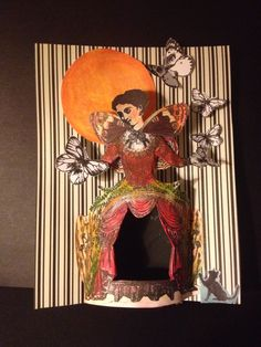 Rarebird Lisa card made with Character Constructions stamps