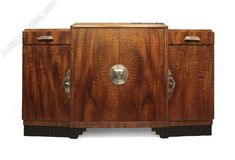Art Deco sideboard French c1930