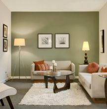 This Small living room wall painting green accent walls accents new fantastic contemporary designs photos and collection about Small living room wall painting grand. Small room wall painting Living Wall images that are related to it Living Room Accents, Living Room Green, Paint Colors For Living Room, Living Room Interior, Home And Living, Small Living, Modern Living, Cozy Living, Cream Sofa Living Room Color Schemes