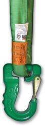 BA PRODUCTS 38-RSH-G Green Round Sling Hook   WLL: 5,300 lbs.  Weight: 3.25 lbs. Call 1-866-658-7952 for pricing and availability.