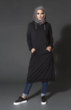 fashionable hijab styles to winter season (5)