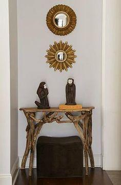 VINTAGE & CHIC: decoración vintage para tu casa [] vintage home decor: Espejos rayos de sol [] Sunburst mirrors