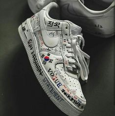 Wanna customize a pair of kicks like this