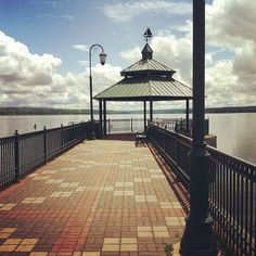 Emerson Park Pier in Auburn, NY, -- can't wait for pictures here!