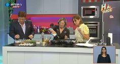 Programa Há tarde na RTP1 com Silampos. Convidado: Chef Justa Nobre