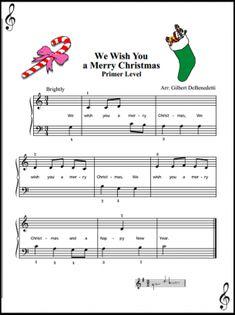 We Wish You A Merry Christmas Sheet
