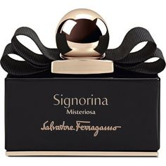 FERRAGAMO Signorina Misteriosa eau de parfum 30ml found on Polyvore featuring beauty products, fragrance, flower fragrance, blossom perfume, salvatore ferragamo fragrance, eau de perfume and salvatore ferragamo