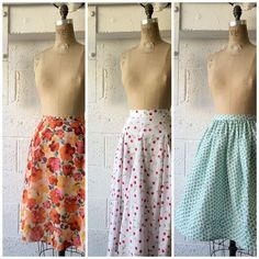 Sweet & swishy skirts for Spring