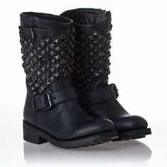 Cute  http://www.ashshoessonline.com/images/ash/Womens-Tokyo-Boot-Black-LeatherBlack-Studs-312215.jpg
