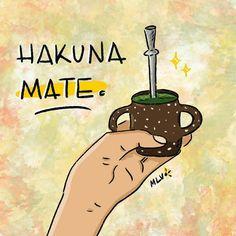 Love Mate, Yerba Mate, Humor Grafico, Book Of Shadows, Namaste, Stencils, Doodles, Instagram, Memes
