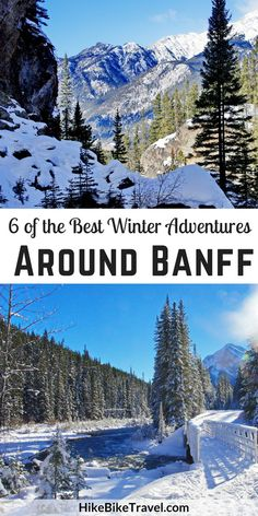 6 of the best winter adventures around banff backpacking canada, canada travel, banff canada Backpacking Canada, Canada Travel, Winter Hiking, Winter Travel, Winter Fun, Winter Holidays, Banff Canada, Canada Canada, Alberta Canada