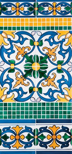 Miradouro Portuguese Ceramic Tiles - Concept 8