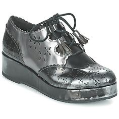 Derby shoes Mam'Zelle RESO Silver / Black 144.00 $
