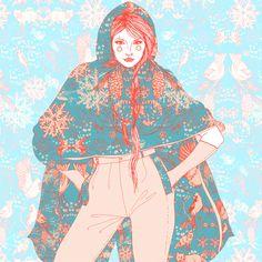 Samantha Hahn...ink & digital