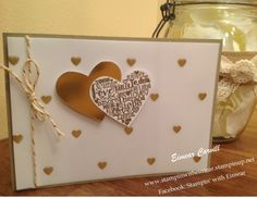 Language of Love gold embossed, with gold sheets and Fancy Foil Vellum x