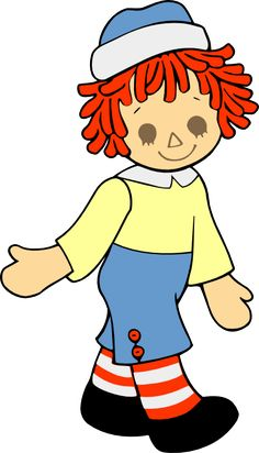 Raggedy Andy paper piecing svg