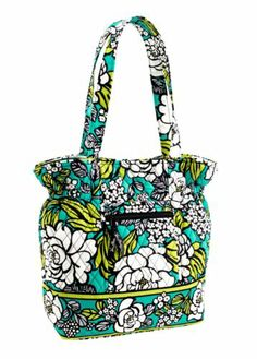 8344d9d0d92e Vera Bradley Laura in Island Blooms Vera Bradley Handbags