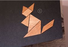 Notebook Tangram Fox