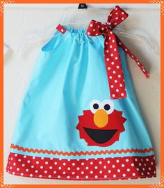 Super Cute Sesame Street Inspired Elmo by LilBitofWhimsyCoutur, $24.00