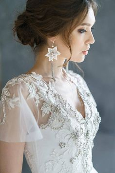ANISIA / embroidery lace wedding dress low sexy embroidery back comfortable corset wedding gown ethereal tulle bridal gown short sleeves Bridesmaid Outfit, Blue Bridesmaid Dresses, Wedding Bridesmaids, Corset Wedding Gowns, Wedding Dresses, Lace Wedding, Bridal Gown, Wedding Ceremony, Dream Wedding