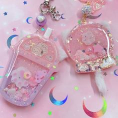 October 30 2019 at Diy Resin Art, Diy Resin Crafts, Uv Resin, Kawaii Jewelry, Kawaii Accessories, Cute Jewelry, Acrylic Charms, Resin Charms, Cute Little Things